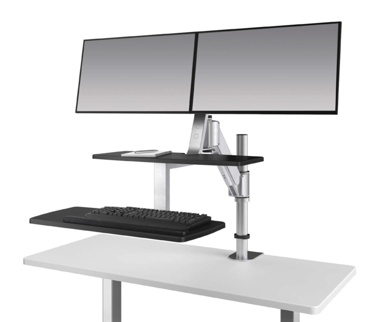 Climb2 Dual Monitor Sit-Stand Workstation