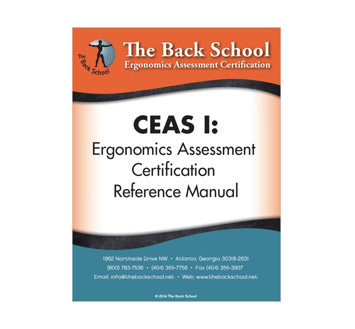 Ceas I Certification Reference Manual The Back School