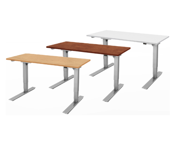 "Victory Electric Sit-Stand Tables (48"" x 24"")"