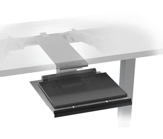 Tech Dock Sliding Laptop Tray